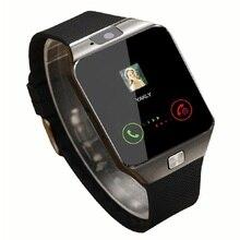 Получить скидку Смарт-часы dz09 2016 золотой оранжевый белый черный SmartWatch Bluetooth Часы для IOS Android для iphone sim-карты Камера 1.56 дюйма