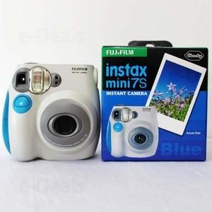 Image 4 - 100% Authentieke Fujifilm Instax Mini 7 S Instant Photo Camera, Werken Met Fuji Instax Mini Film, goede Keuze Als Aanwezig/Gift