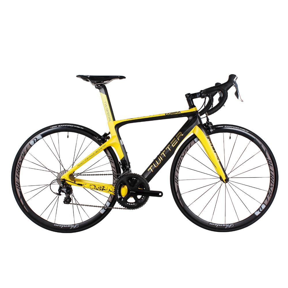 TWITTER Super Light Aero Carbon Road Complete Bike Bicycle 22 Speed V brake XXS/XS/S/M/L petcircle 2 xxs xs s m l 10100066tt