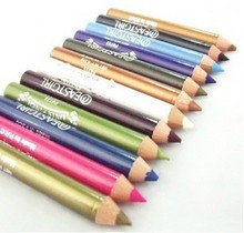 12 pcs maquiagem lápis delineador colorido impermeável maquiagem caneta cosméticos lápis estilo frete grátis