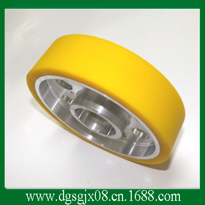 Wire Guide Pulley With packing PU  Plastic  or other For  Extruding Machine coated ceramic pulley and pu plastic pulley for extruding machine and stranding wire machine