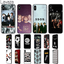 купить Lavaza 5 Seconds of Summer Soft Silicone Case Cover for Apple iPhone 6 6S 7 8 Plus 5 5S SE X XS 11 Pro MAX XR по цене 149.15 рублей