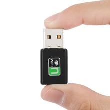 Mini USB WiFi Adapter 300Mbps Wifi Receiver External Wireless Network Card Portable Adaptador wi fi Dongle 802.11n/b/g