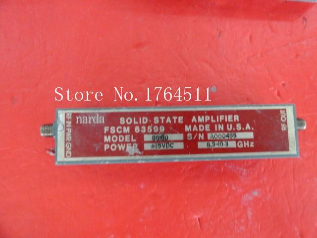[BELLA] NARDA 60180 8.3-10.3GHz Amplifier Vin:15V SMA