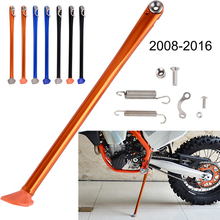 Motorcycle Foot Side Stand Kickstand For KTM 125 250 350 450 500 530 XC XCW XCF XCFW EXCF EXC Husaberg Husqvarna FE 2015 2016 h2cnc 6 styles bull rockstar team graphics decals stickers for ktm 125 200 250 300 450 500 exc xcw xcf xcfw excf 2014 2015 2016