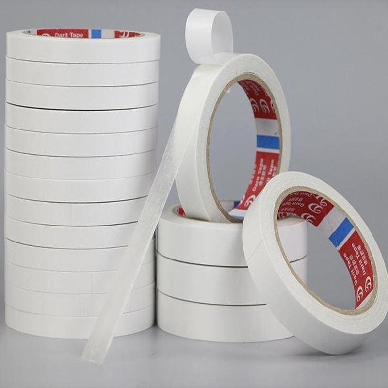 1 Roll 20meter Hot Super Strong Double Faced Powerful Adhesive Tape Paper Double Sided Tape For Mounting Fixing Pad Sticky