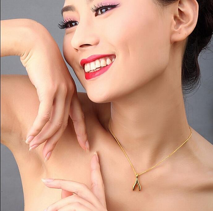все цены на Hot sale fashion Authentic 24k Yellow Gold Pendant 3D Lucky Bone Pendant 1.16g