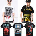 Brand cotton last Kings mens t shirts, high quality lk hip hop t-shirt short sleeve tees men's clothing swag tshirt dgk