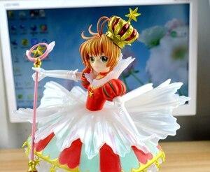 Image 5 - Japanese Anime Card Captor Sakura 15 YEARS Anniversary Kinomoto Sakura Crown 1/7 Scale Action Figure Doll Toy Gift CHN VER. New