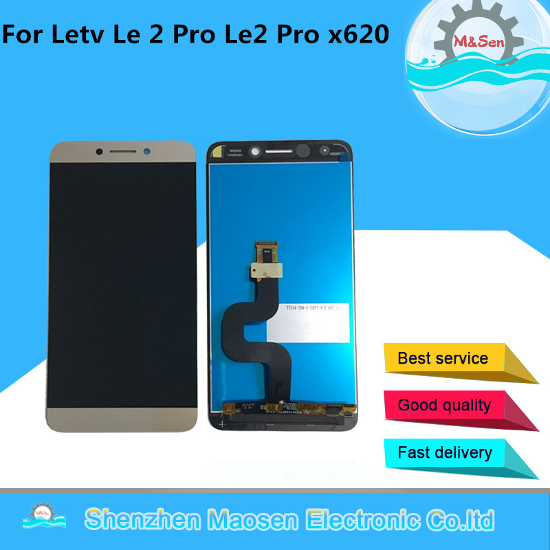 Original M & Le 2 Pro Le2 Sen Para Letv Pró X520 X521 X522 X525 X526 X527 X528 X529 X620 X625 LCD screen display + touch digitalizador