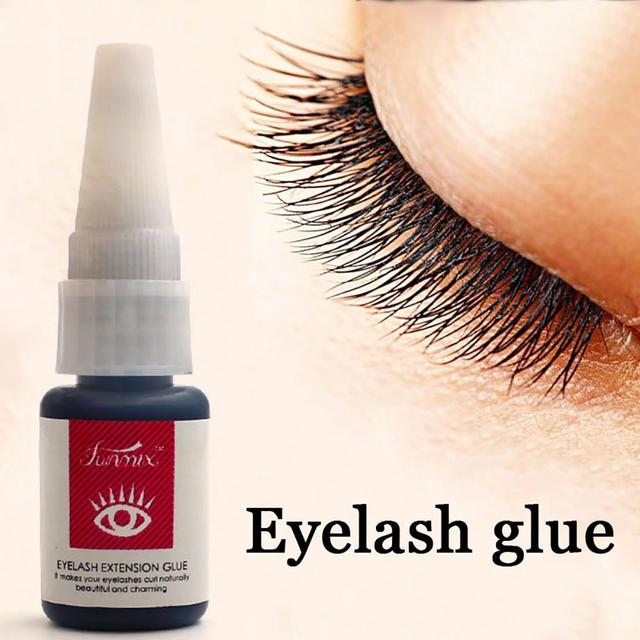 Professioan long lasting 30 days eyelash glue for lashes fast dry strong eyelashes extension glue Micro stimulation with odor 1