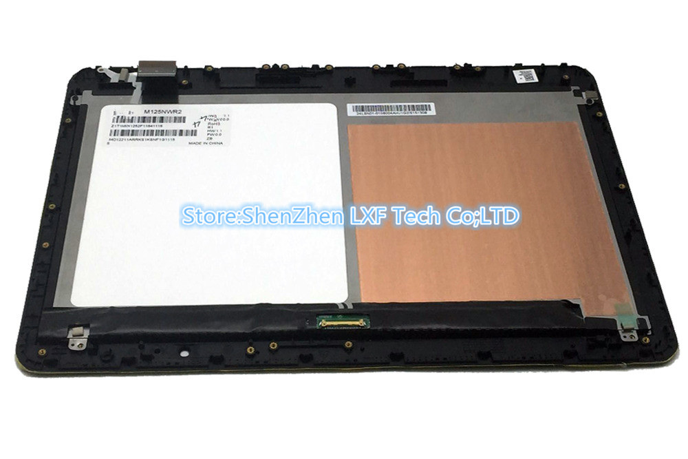 12.5'' M125NWR2 LCD LED Screen Display Touch Assembly For Asus T300FA 1A 5680Q FPC 1