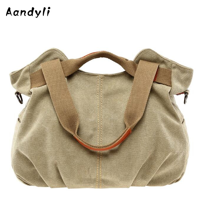 Fashion Canvas Handbag Women messenger bags Single Shoulder Bag Leisure Crossbody bags 2016 hot style horizontal women leisure canvas stripe handbag mix single shoulder bag handbag chain wave packet