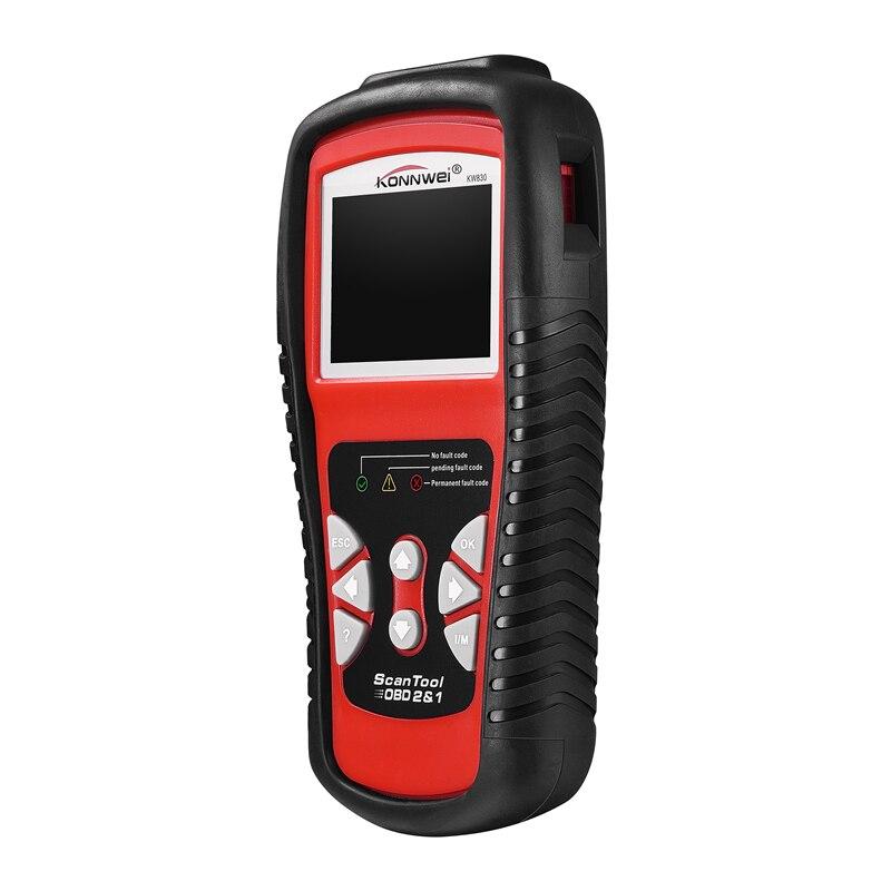 Scanner automobile KW830 OBD2 ODB2 pour le Diagnostic de voiture lecteur de Code d'erreur automatique universel ODB2 Scanner de Diagnostic de voiture
