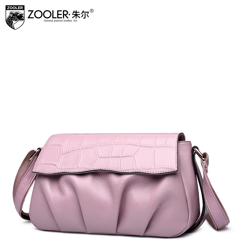 losing money sales !!ZOOLER 2017 limited 100% cowhide women messenger bags women shoulder bag genuine leather bags hot #6136