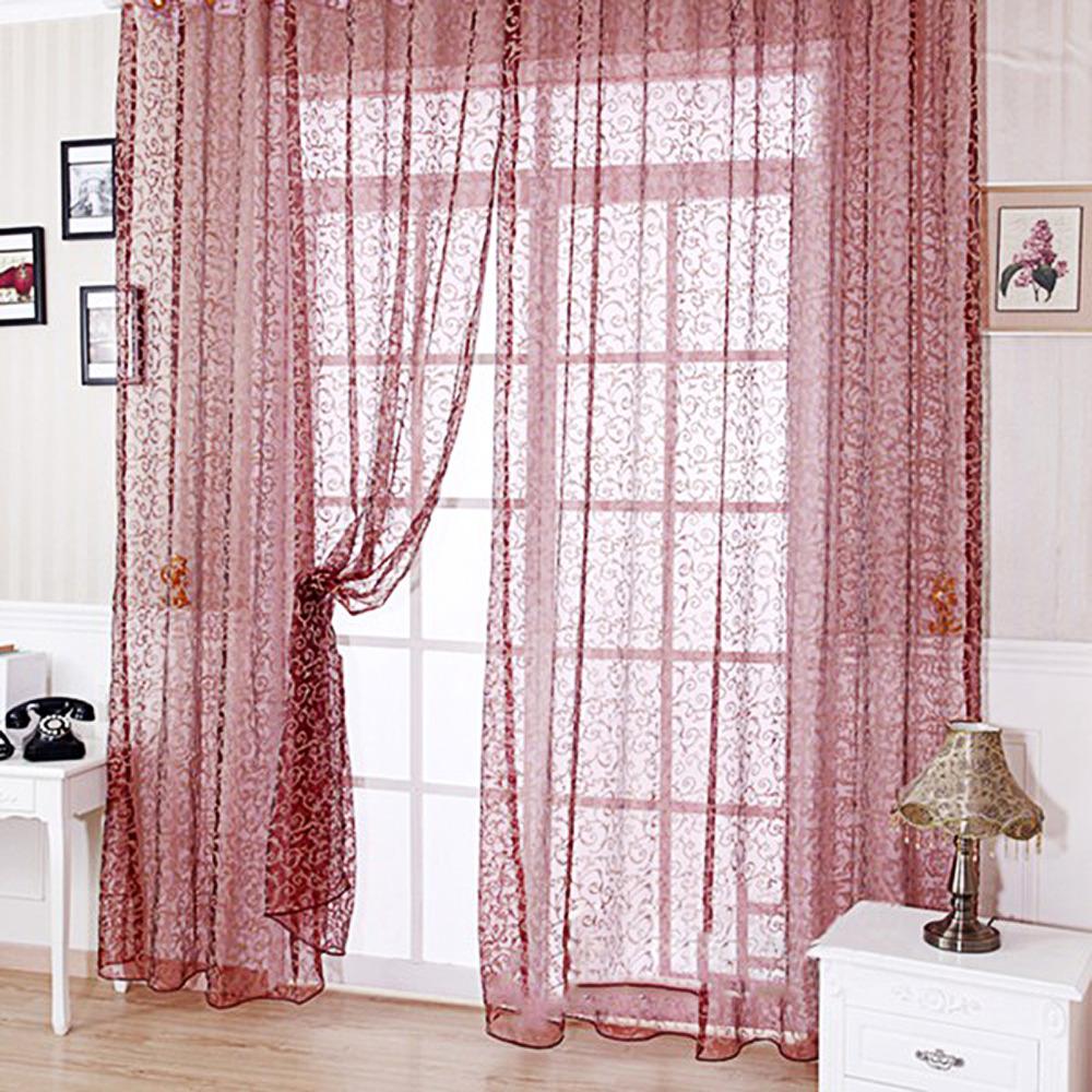 2017 estilo europeo cortina escarpada panel de la cortina de ventana balcn tul separador de ambientes