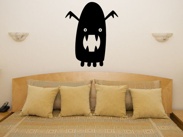 Easy Removable VInyl Decals Ghost Halloween Wall Sticker Home - Vinyl wall decals home party