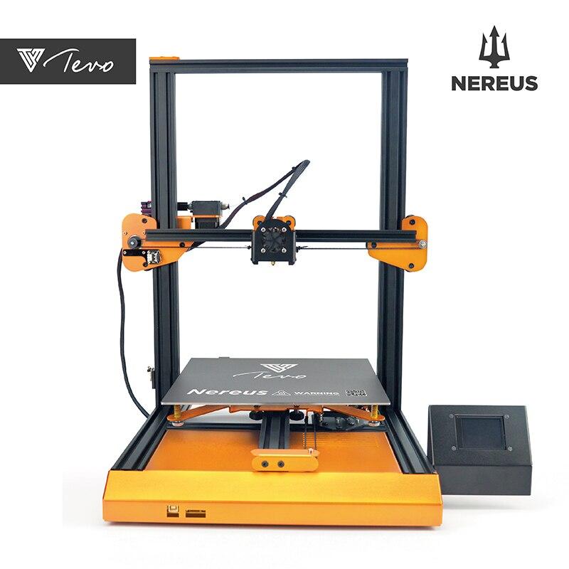 Tevo nereus impressora 3d tamanho 320*320*400mm wifi controle e tela de toque colorida metal pré-montado impressora 3d kit