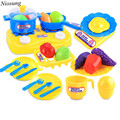 26pcs Plastic Kids Children Kitchen Utensils Food Cooking Pretend Play Set Baby New arrival Toy