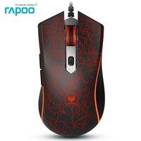 Promotion Original Rapoo V15 3200DPI LED Optical 6D USB Wired Gaming Game Mouse Pro Gamer Computer