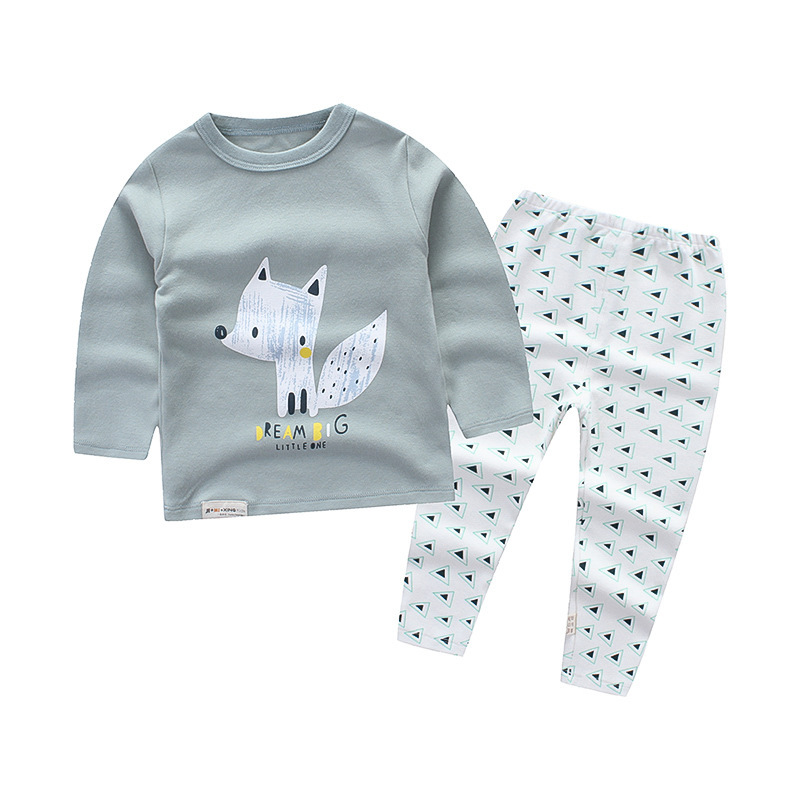 Children Wit 2018 Spring New Children Clothing Set Cotton 21 Kinds Of Cartoon Style Boys & Girls Clothes Sweatshirts+Pants Suit