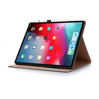 Case for iPad Pro 11 2018 Luxury Leather stand Cover magnetic Case pen holder Cover Case for New iPad Pro 11 2018 Release sleeve