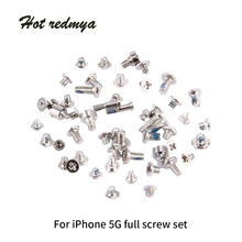 50Set Screws Full Screw Set For iPhone 4S 5S 5G 6G 6S 6Plus + 2 Bottom Dock Screw Repair bolt Complete Kit Replacement Parts hot sales replacement for apple iphone 5 5g full screw set with 2 botton mini screws repair 2 bag lot new arrival 5076