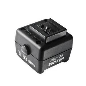 Image 2 - אלחוטי פלאש חם נעל מתאם ממיר אופטי Slave טריגר FC 7SN עבור Yongnuo Canon ניקון Speedlite כדי Sony DSLR מצלמה