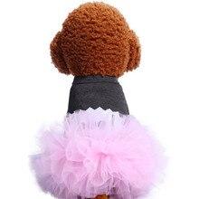 Милая летняя юбка для домашних животных Новая мода маленькая домашняя собака весна и лето Милая юбка-пачка плюшевая юбка принцессы#19628