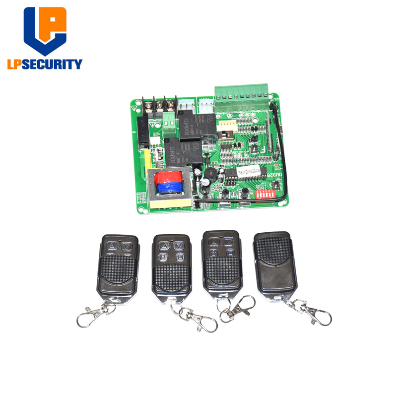 Universal 230VAC Use Only Sliding Gate Opener Motor Circuit Board Card Controller PCB Motherboard(remote Control Optional)