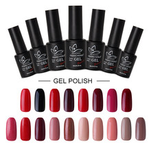 Professionele Gel Nagellak Art Polish Nagels Poly Gel Uv Nagellak Polygel Top Coat Vernis Semi Gellak Builder Gel kleur(China)