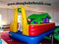 Funny Playground Trampoline Children Amusement Park Big Trampolines