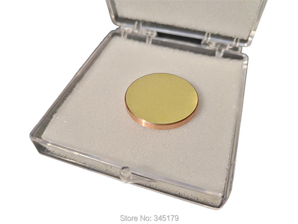 3 Piece lot Diameter 25mm CU Copper Co2 Laser Reflective Mirror For CO2 Laser Engraving Cutting