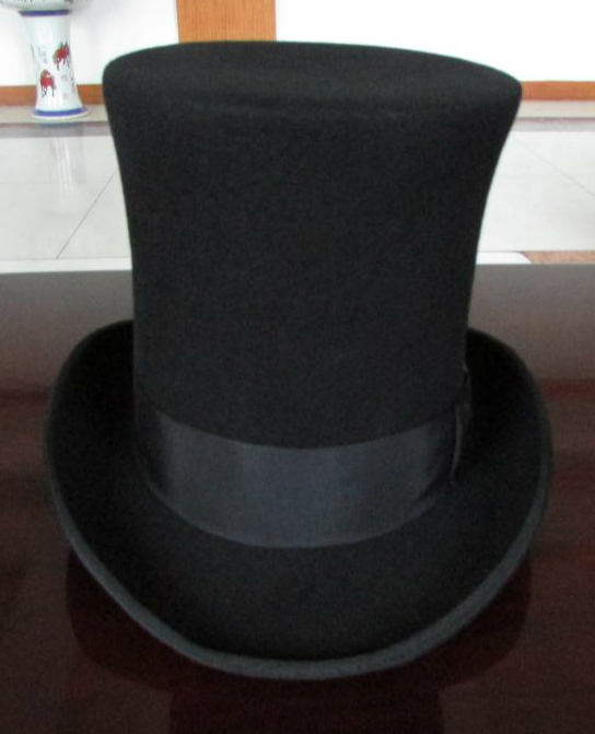 a341d33df47 25cm High Black Wool top hat for women and men chapeau fedora felt vintage  trational party church hats-in Fedoras from Apparel Accessories on  Aliexpress.com ...