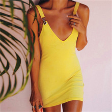 5a493aca39 Sexy Skintight Bodycon Party Dress Women Party Sexy Out Strapless Elegant  Solid Dress Metal Ring Crystal