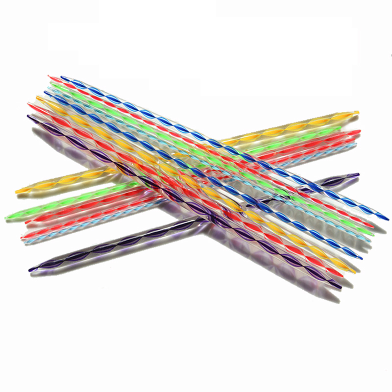 7Sets 4mm 5mm 6mm 7mm 8mm 9mm 10mm Double-ended needle Knitting Needles Set  Kit RX161