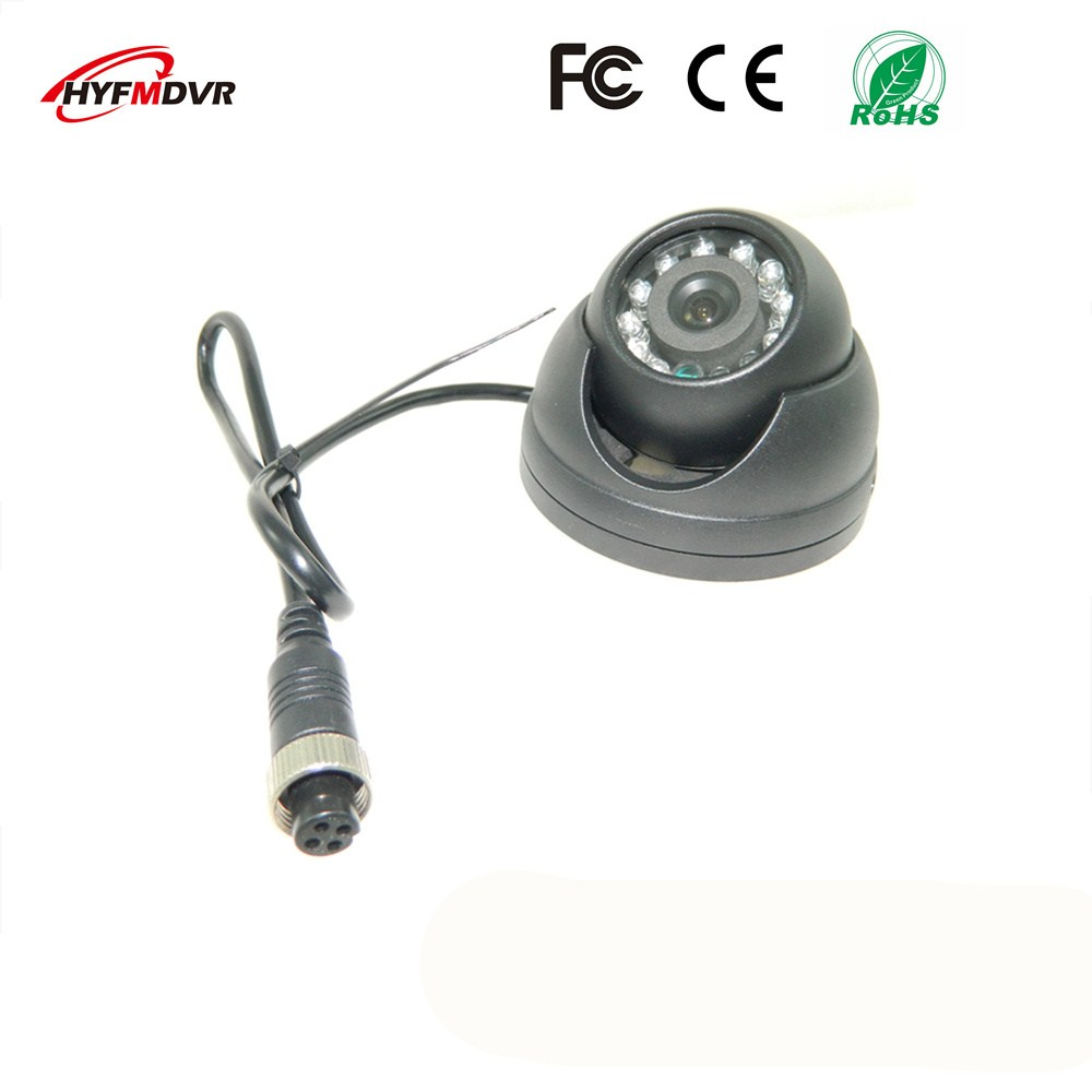 ahd1080p 720p 960p semi elliptical infrared night vision monitor head metal shell 12v wide voltage sony 600tvl taxi camera 2 inch metal hemisphere monitoring head SONY 600TVL /1080p/720p/960p taxi camera built-in infrared lamp