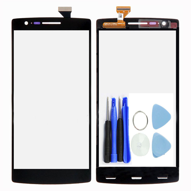 New Outer Touch Screen Digitizer Glass Panel Repair Part For Oneplus One 1+ A0001 High Quality+Tools