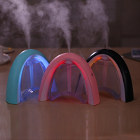 EASEHOLD 400ML Colorful LED Portable Air Humidifier USB Charging Aromatherapy Essential Oil Aroma Diffuser Mist Maker