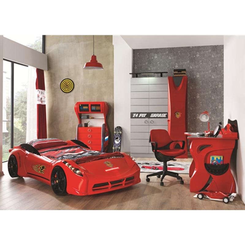 Durable Modern Luxury Kids Bedroom Set Furniture Fancy Car Bed For Boys Aliexpress