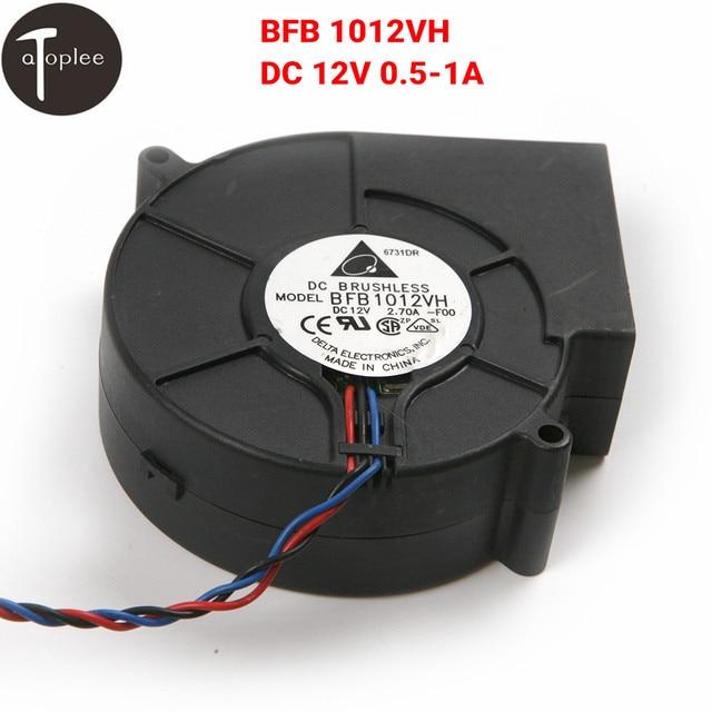 BFB 1012VH DC 12 V 0.5-1A Brushless Turbo Ventilatore Ventilatore Centrifugo 3 S