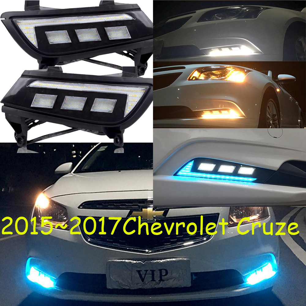 ФОТО LED headlight Kit,car daytime light,2014~2017,chrome,LED,Free ship!2pcs,car-detector,car fog light,car-covers,steering-wheel