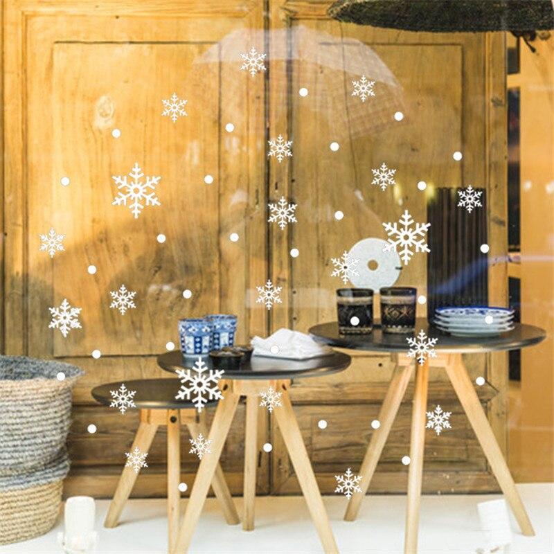 Neue Weihnachten Schnee Wandaufkleber Schneeflocke Shop Minecraft ...