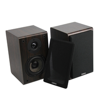 LONPOO Bluetooth Audio system Wi-fi Bookshelf Audio system Loudspeaker Wood AUX Stereo Sound house theater Subwoofer forPC/Cellphone