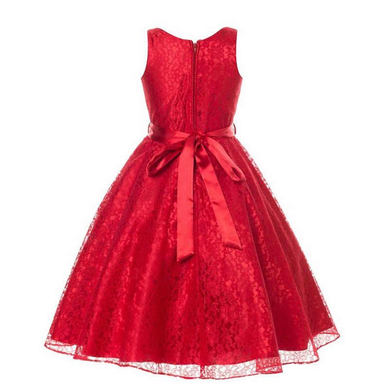 Fashion Designer Clothes Children Lace Kids and Teenager Party Dresses for  Graduation Children Cocktail Dress