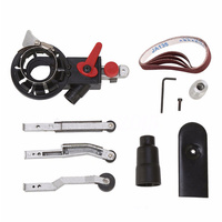 Mini Set Sander Machine Sanding Belt Adapter Head Convert Grinder Rivets Drill Chuck Power Tool Accessories
