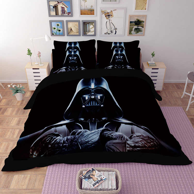Star Wars 3D Bedding Set Duvet cover The Phantom Menace comforter bedding sets bedclothes bed line Home textile (NO sheet)