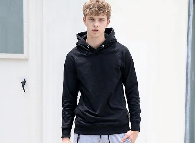 Autumn And Winter Men's Hooded Hoodies 1
