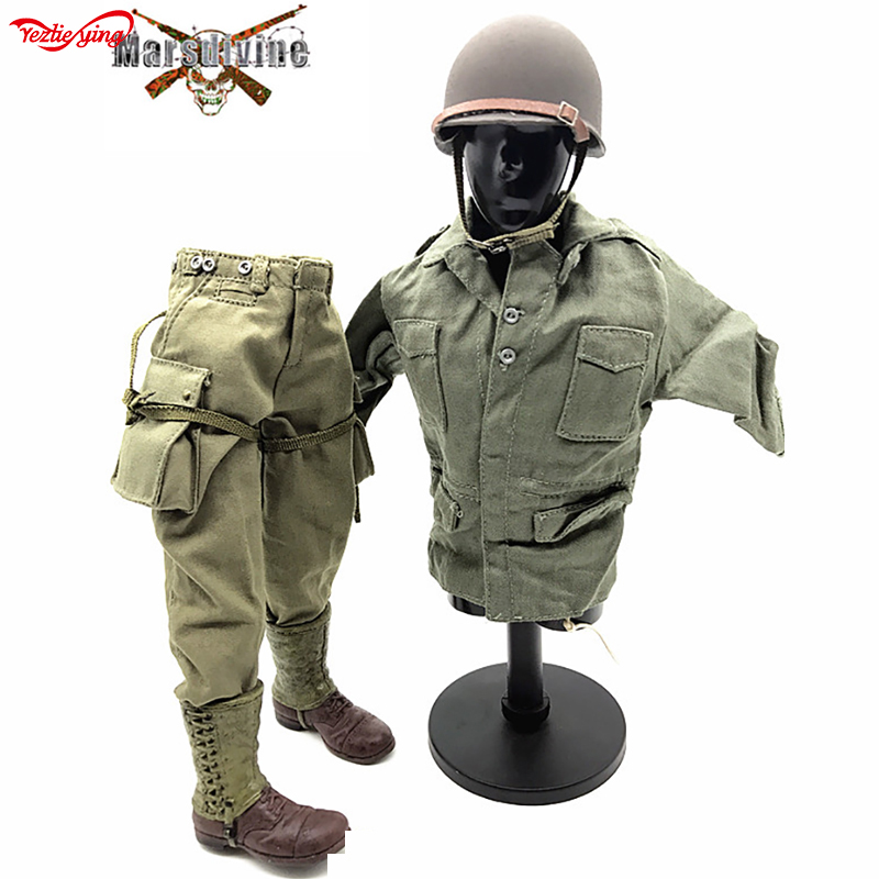 1:6 WWII SS German Wehrmacht Armored Force Panzer Coverall Jacket Jumpsuit 12/'/'