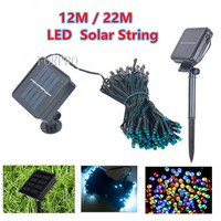 Solar Lamps String 12M 100 LED Fairy String Lights Solar Power Outdoor Lighting Waterproof For Garden